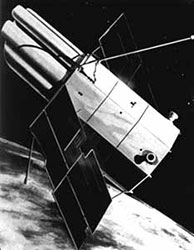 Artist's conception of the Copernicus satellite
