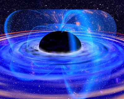 spinning black hole