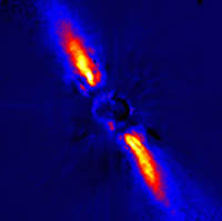 The debris disk around Beta Pictoris.