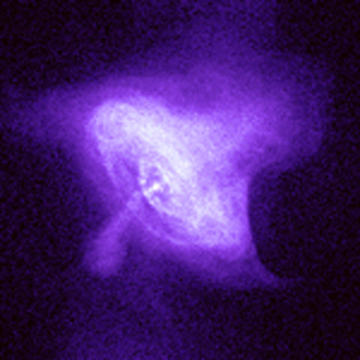X-ray image of the Crab Nebula