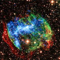 Chandra X-ray Image of W49B