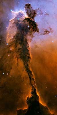 Hubble image of the Eagle Nebula