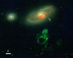 image of IC 2497 and Hanny's Voorwerp