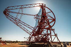 Photo of one of the HESS telescopes