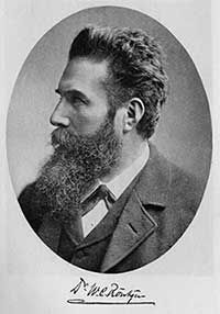 Portrait of Wilhelm Rontgen
