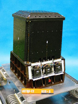 Photo of the proportional counter used on the RXTE satellite
