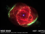 optical image of Cat's Eye Planetary Nebula